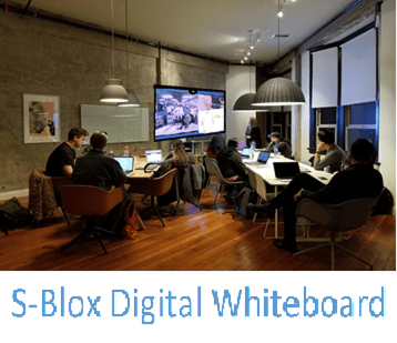 S-Blox Digital white-Board