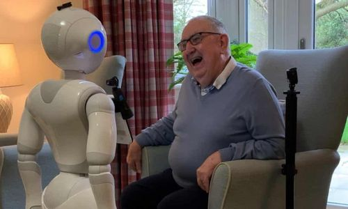Robots to be used in UK care homes to help reduce loneliness