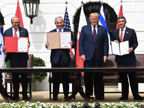 Historic UAE-Israel peace deal signed in Washington