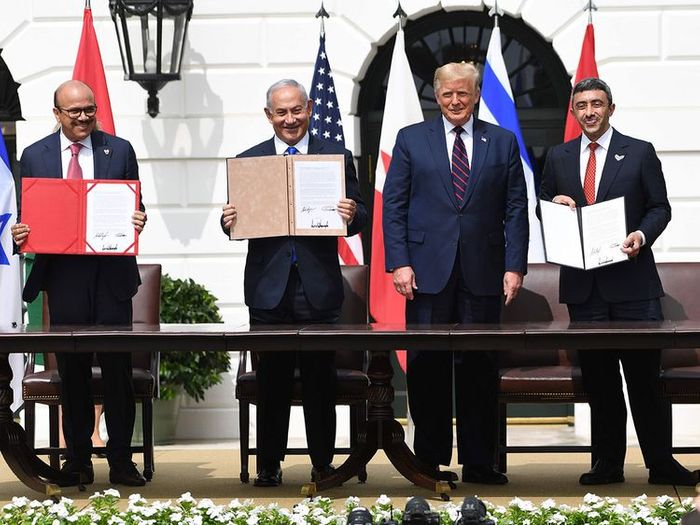 Historic UAE-Israel peace deal signed in Washington
