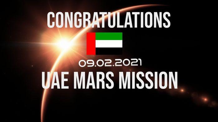 UAE makes history: UAE' Hope Probe has successfully entered orbit around Mars