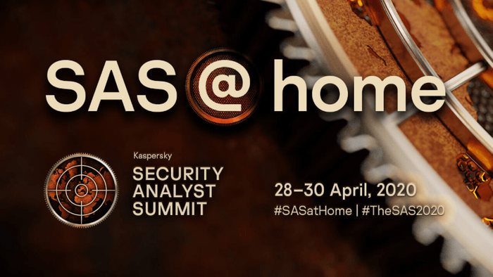 SAS@home brought to you by Kaspersky & SecurityWeek