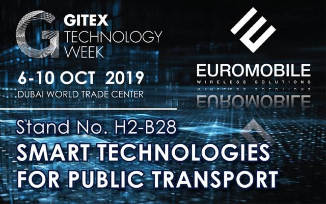 SMART technologies for transport are presented at GITEX