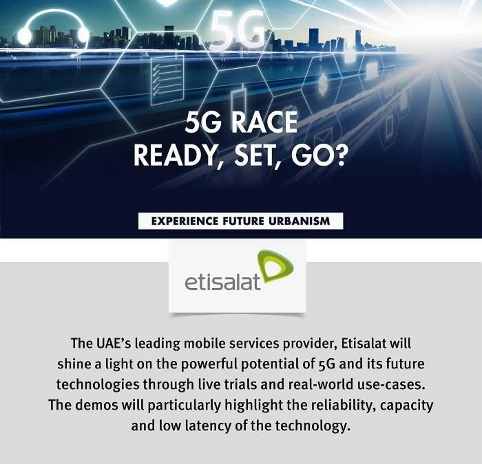 Buckle up, super-fast 5G coming to GITEX 2018