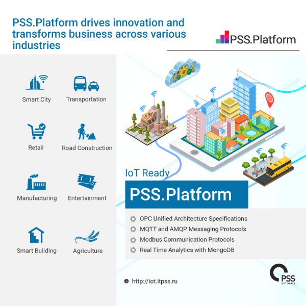 PSS.Software will Present  the IoT Device Management Platform at GITEX Technology Week 2019