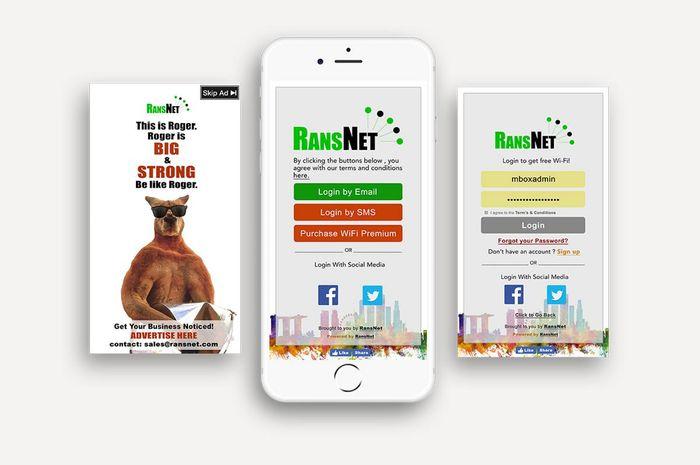 Wi-Fi Advertising using mbox HSG