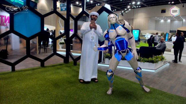 2nd Day EVO-X is getting famous AT GITEX 2019