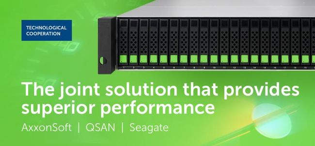 QSAN, AxxonSoft, and Seagate Deliver Superior VMS and PSIM Solutions