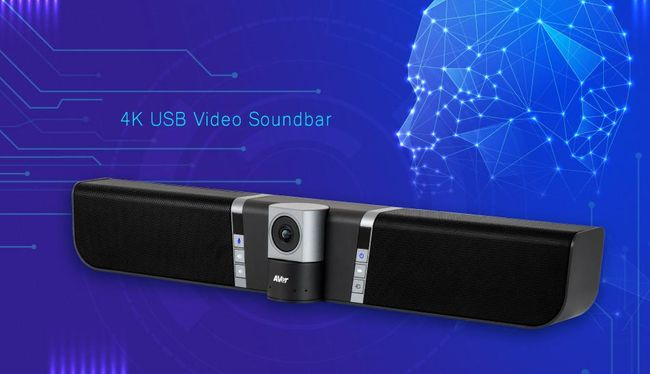 AVer's Upgraded Video Soundbar Brings Auto Framing and Voice Tracking to the Huddle Room