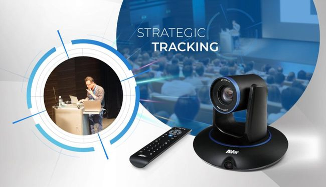 Get Advanced Strategic Tracking with the New PTC500S Auto Tracking Camera