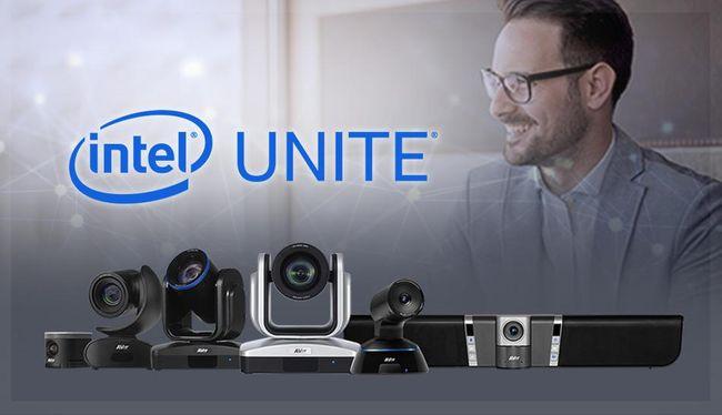 AVer USB Cameras Certified for Intel Unite® Solution