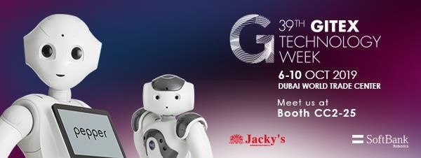 Jacky's Business Solutions looking for channel partners for SoftBank Robotics at Gitex