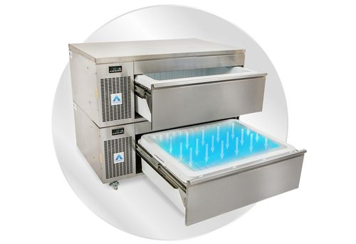 NEW PRODUCT FOCUS: Adande VCS2/CW two-drawer prep station