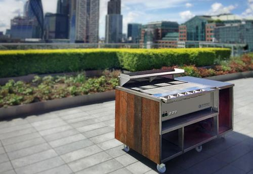 Synergy Grill Technology creates outdoor kitchen options to help hospitality