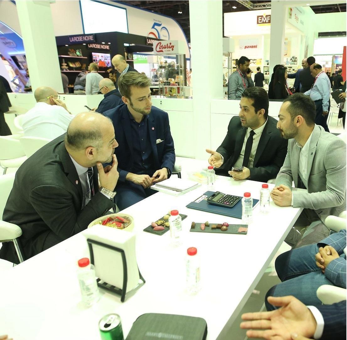 60 heures de rencontres avec les professionnels de l'industrie par le biais de Gulfood Connexions