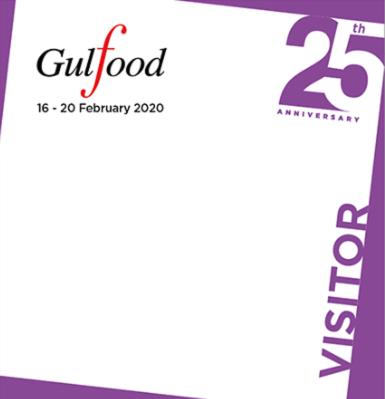 Obtenga sus entradas anticipadas para Gulfood 2020