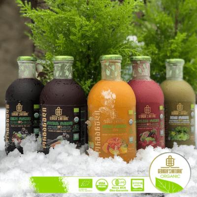 Essential Cocktail Signature Line/ 100% Organic Pure Juice Blends