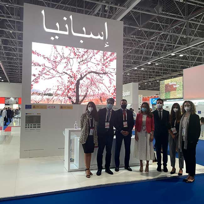 SPANISH COMPANY SIGNS 12 MOUs AT GULFOOD 2021