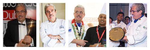 Gulfood Chef Uwe Micheel wins lifetime achievement Award