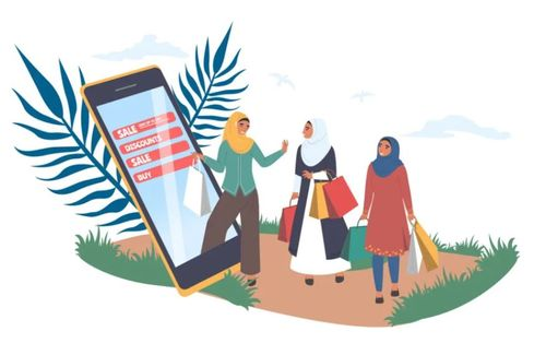 Saudi Arabia with over 36000 new online stores