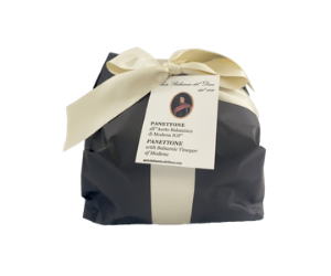 Panettone with Balsamic Vinegar of Modena -del Duca