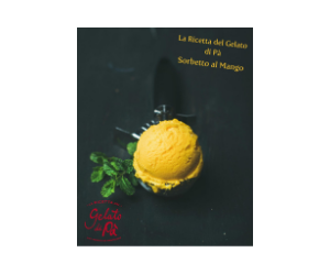 """Il Gelato di Pà"" UHT Ice Cream Liquid Mix Mango Flavour"