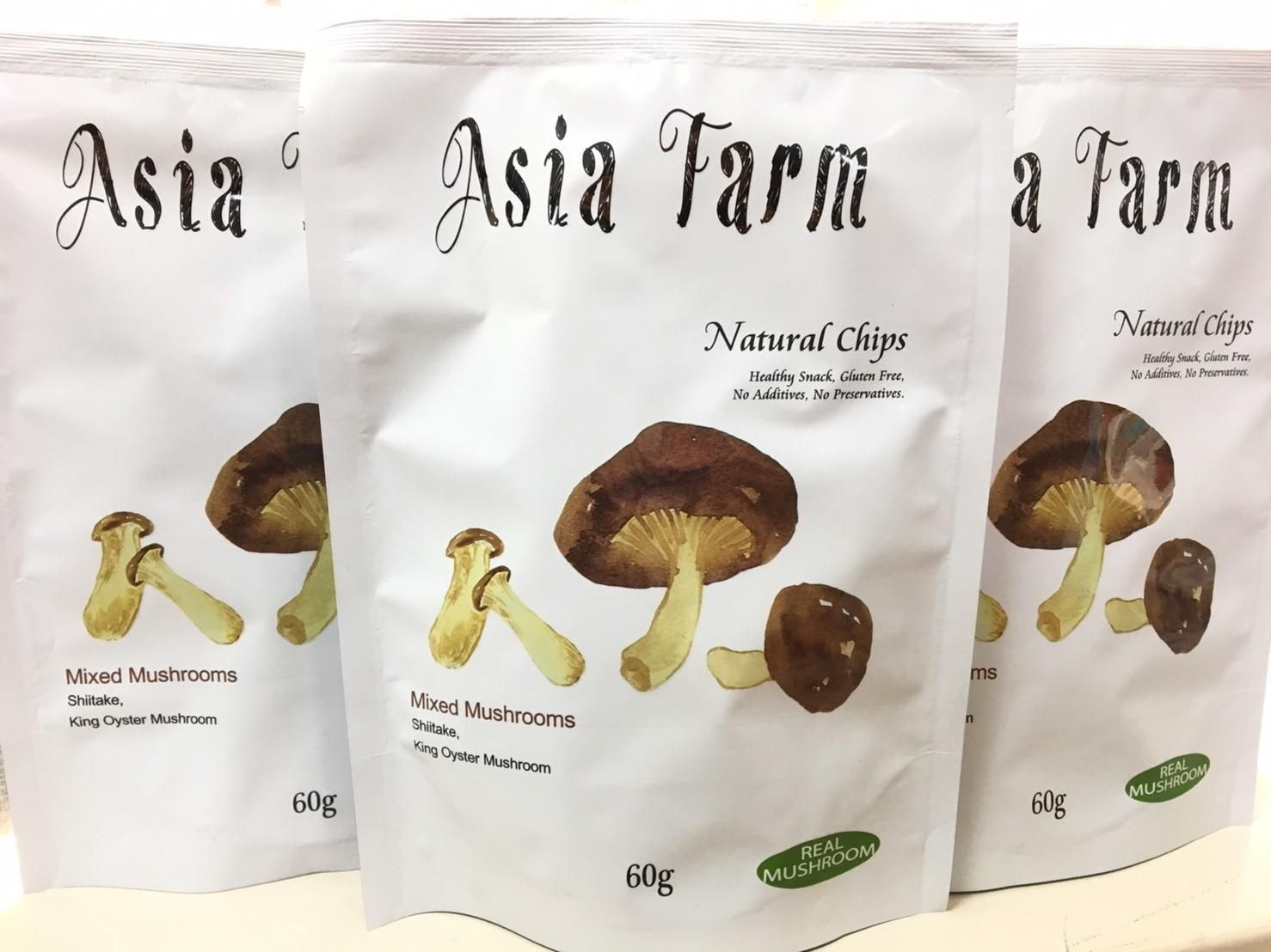 Asia Farm Mix Mushrooms Chips