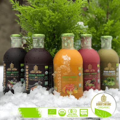 Essential Cocktail Signature Line/ 100% Organic Pure Juice Blends
