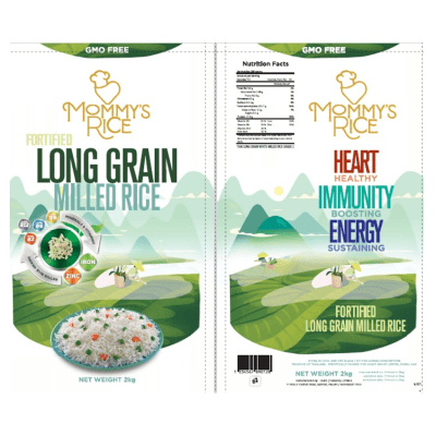 Fortified Rice Products