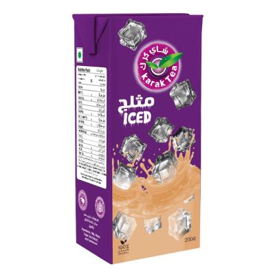 Iced Karak Tea