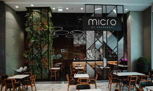 Emirati chef Khaled Al Saadi opens new restaurant Micro by PappaRoti at Dubai Mall