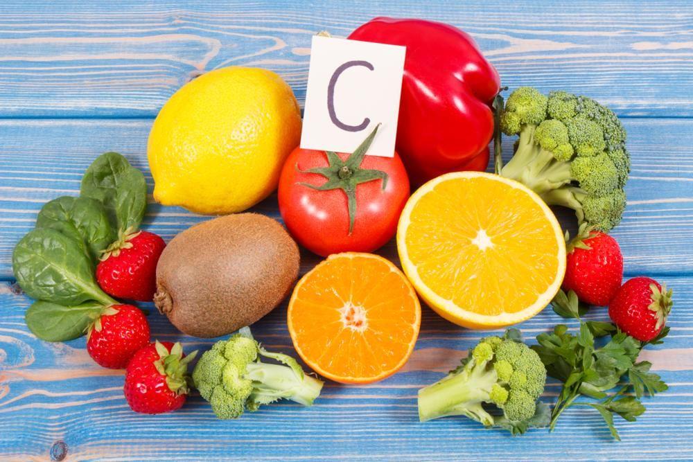 Oranges, strawberries and broccoli for Vitamin C