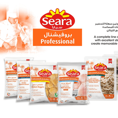 Seara Professional Meat and Poultry Product Range for Foodservice