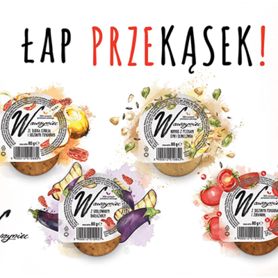 Wawrzyniec Chilled Vegetable Pastes 80g