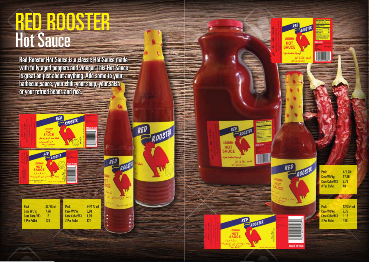 Red Rooster Hot Sauce