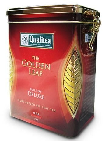Qualitea The Golden Leaf – Full Leaf Deluxe Metal Can