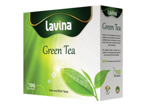 Green Tea 100 Tea Bag
