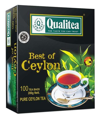 Qualitea 2g x 100 Best Of Ceylon With String & Tag