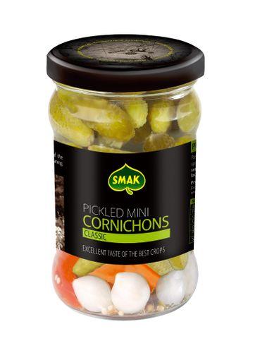Smak - Pickled mini cornichons