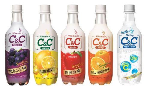 C&C Sparkling Drink Series