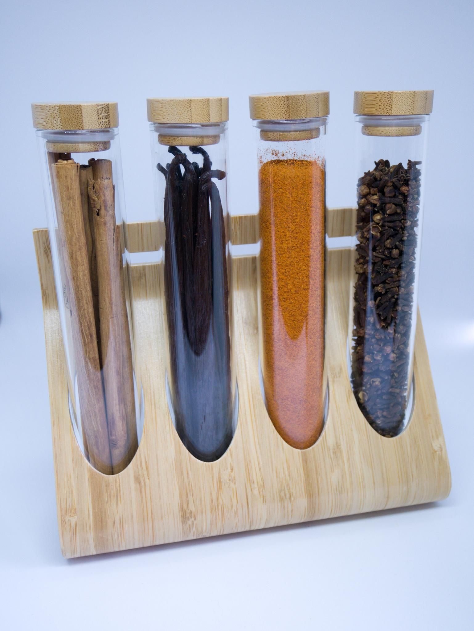 Vanilla beans and others spices