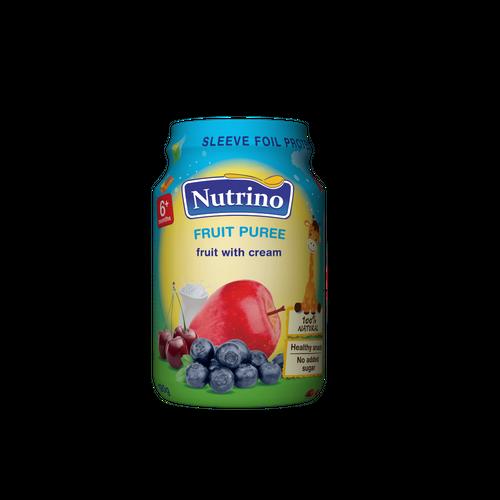Nutrino fruit puree fruit with cream