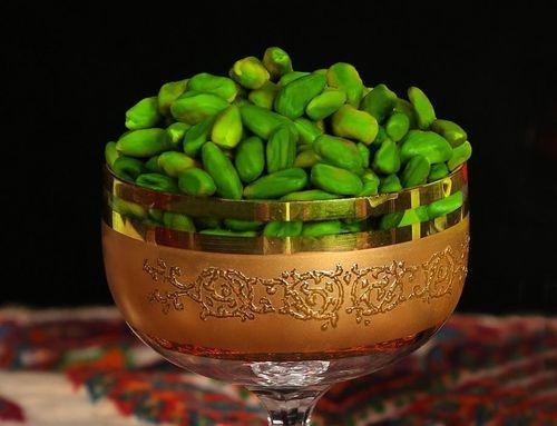 Green Peeled Pistachio Kernel(GPPK)