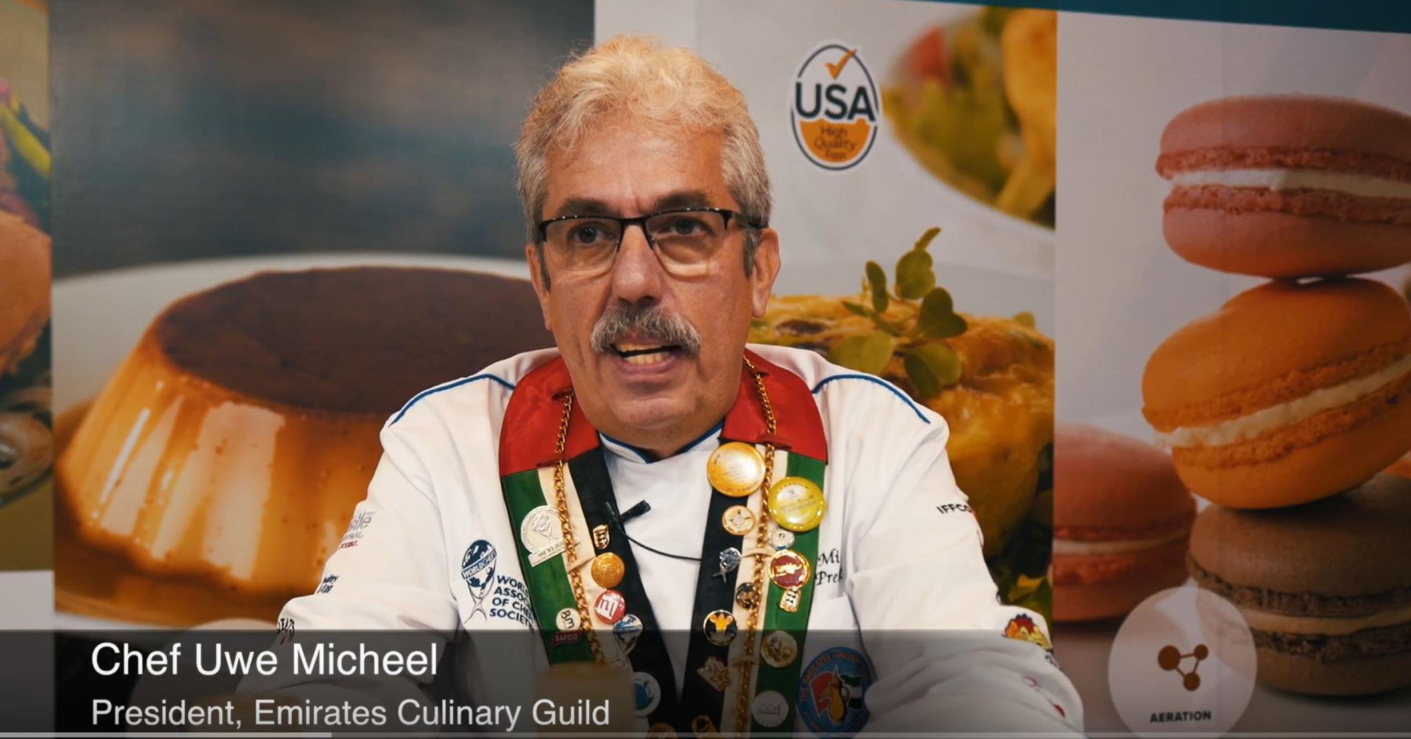 Dubai Chef Video-High Quality U.S. Eggs & Egg Products