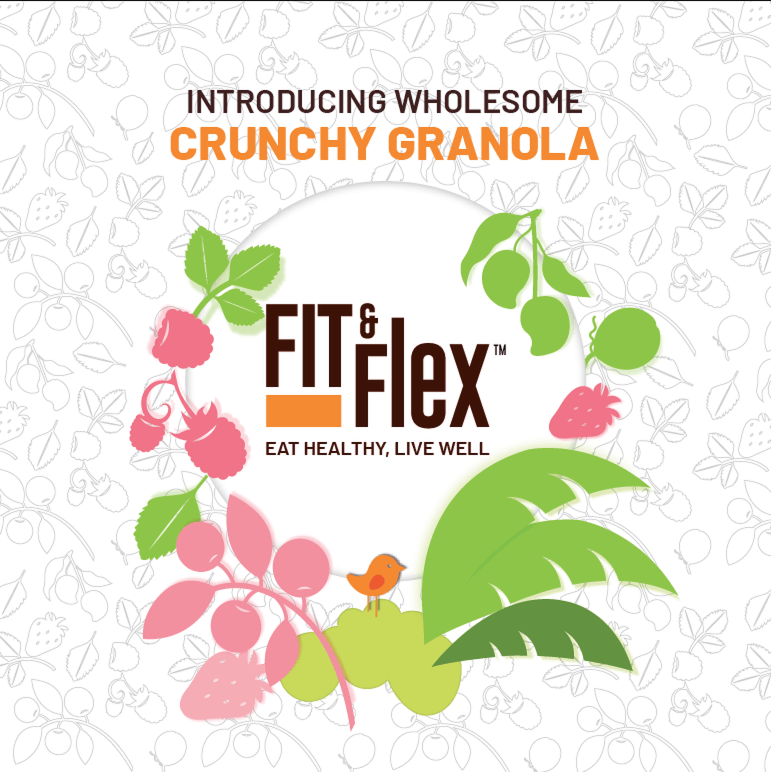 Fit & Flex Granola - A healthy & tasty start to your every day - #HolaGranola