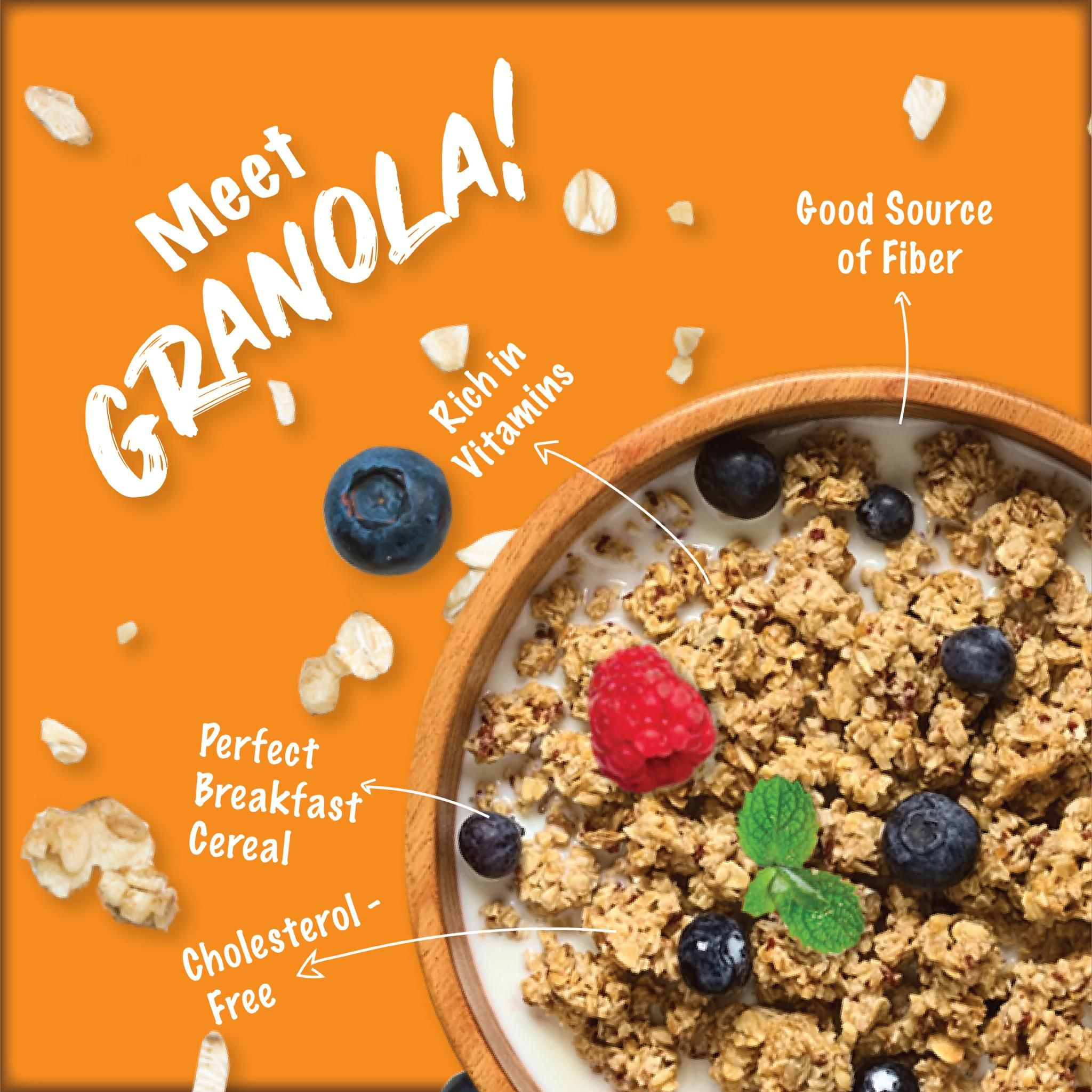 Say Hello to 3 Amazingly Delicious Flavours of Granola - #HolaGranola