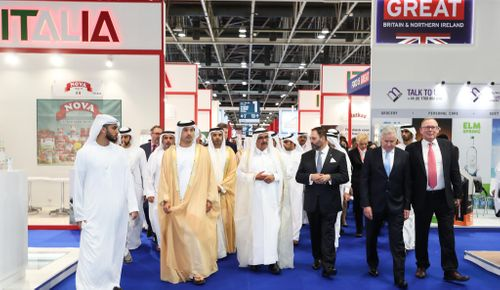 HH Sheikh Hamdan Bin Rashid Al Maktoum, Deputy Ruler of Dubai and UAE Minister of Finance, Opens Trend-Setting Gulfood 2018