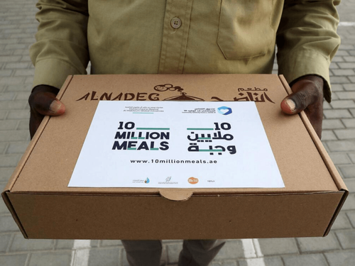 1.3 million meals delivered in first week of food campaign