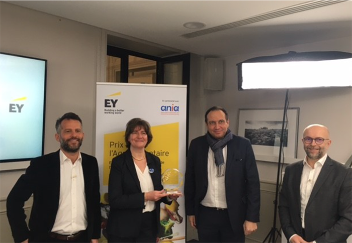First blockchain-based dairy & Gulfood 2021 Exhibitor - Ingredia wins prestigious award for 'Societal & Environmental Commitment'