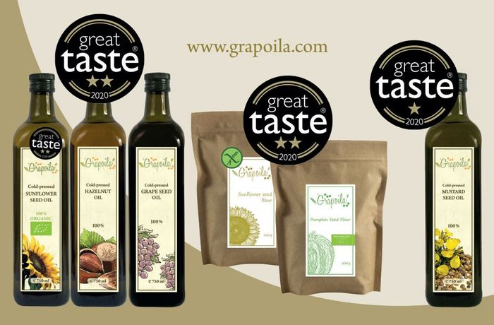 Winner of Hungary's Most Stars at Great Taste Award 2020 – Grapoila present their award-winning products at Gulfood 2021